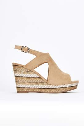 Wallis Stone Covered Wedge Sandal