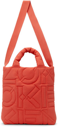 Kenzo Red Quilted Arctik Tote