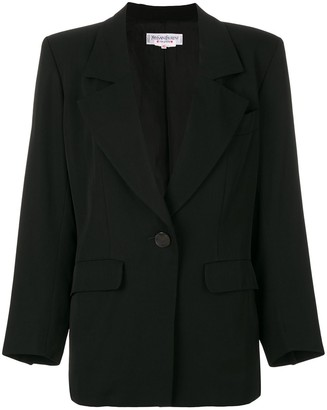 Structured Button-Up Jacket