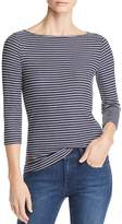 Three Dots Hyannis Striped Top - 100% Exclusive