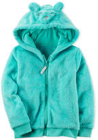 Carter's Fuzzy Animal-Face Hoodie, Toddler Girls (2T-5T)