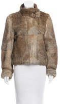 Joseph Rabbit Fur Jacket