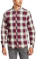 Blend of America Men's Casual Shirt - Black -