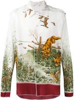 Maison Margiela fox print shirt