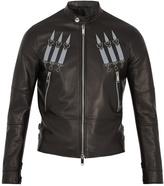 Valentino Love Blade stud-embellished leather jacket