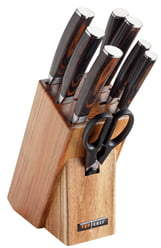 TOP CHEF Dynasty 9-Piece Knife Block Set