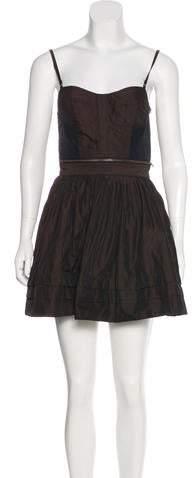 AllSaints Flared Mini Dress