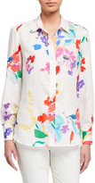 Finley Alex Wild Floral Button-Down Shirt