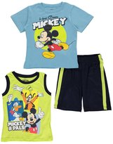 "Disney Mickey Mouse Clubhouse Little Boys' Toddler ""Here Comes Mickey!"" 3-Piece Outfit"