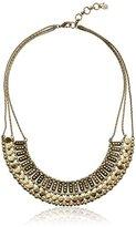 "Lucky Brand Gold Textured Metal Necklace, 18"" + 2"" Extender"
