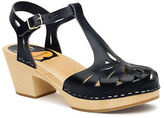 Swedish Hasbeens Lacy Platform Leather Sandals