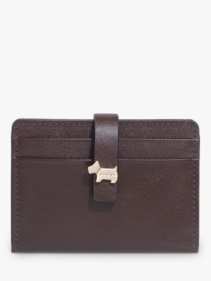 Radley Newick Road Leather Folded Card Holder