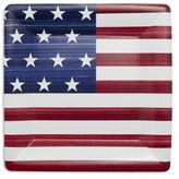 Paper Products Stars and Stripes Paper Plates, Set of 8