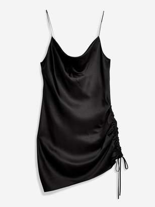 Topshop Mini Slip Dress - Black