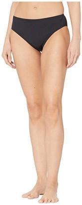 Speedo Core Compression High-Waist Bottoms Black) Women's Swimwear