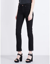 Fiorucci Yves Cigarette straight high-rise jeans