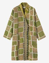 Toast Kantha Quilted Coat