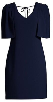 Trina Turk Tropical Tie-Back Dress