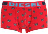 Diesel Crazy Cat Stretch Cotton Boxer Briefs