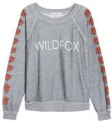 Wildfox Couture Women's Bouquet Thrashed Sweatshirt