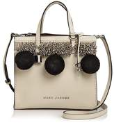 Marc Jacobs The Mini Grind Beads & Poms Leather Crossbody