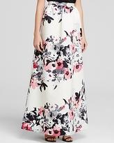 Parker Black Skirt - Lenore Floral Print Ball