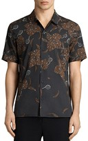 AllSaints Kauai Slim Fit Button-Down Shirt