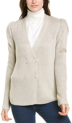 Les Copains Wool Cardigan