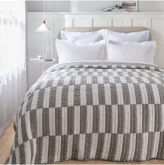 The White Company Noah Patchwork Quilt