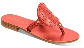 Jack Rogers Women's Georgica Leather Sandals