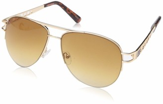 Rocawear Women's R3276 Gldts Non-Polarized Iridium Aviator Sunglasses
