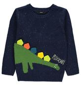 George 3D Dinosaur Knitted Jumper