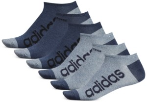 adidas Men's 6-Pk. Superlite Linear No-Show Socks