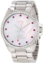 Juicy Couture Women's 1901008 Stella Stainless Steel Bracelet Watch