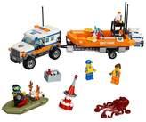 Lego ; City Coast Guard 4 x 4 Response Unit 60165