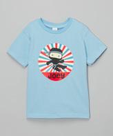 Swag Light Blue Ninja Personalized Tee - Kids & Tween