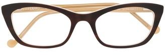 Liu Jo Cat Eye Two Tone Glasses