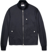 Brunello Cucinelli - Virgin Wool And Silk-blend Bomber Jacket