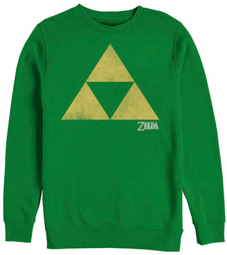 Fifth Sun Pullover Sweaters KELLY - Legend of Zelda Kelly Green Toraifosu Crewneck Sweater - Adult