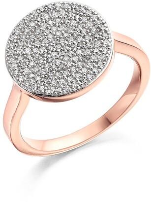 Monica Vinader Ava Diamond Disc Ring