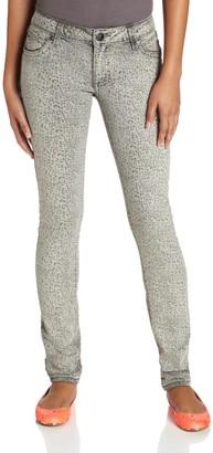 Wrangler Women's Rock 47 Skinny Leg Cheetah Printed Skinny Jean Jean