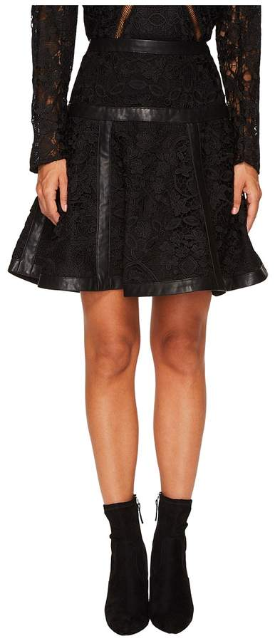 The Kooples Lace Skirt with Stripes Women's Skirt