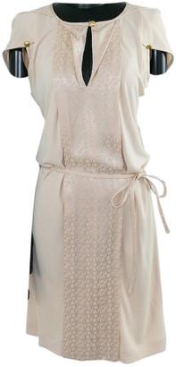 Louis Vuitton Beige Cotton Dresses