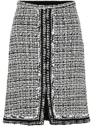 Giambattista Valli High-rise tweed miniskirt