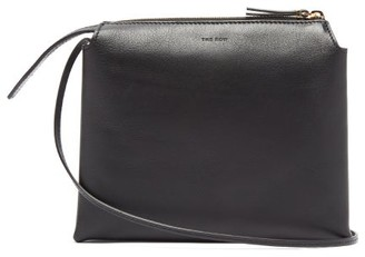 The Row Nu Twin Mini Leather Cross-body Bag - Womens - Black