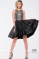Jovani Sleeveless Cocktail Dress with Beaded Bodice JVN45585