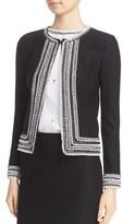 St. John Women's Embellished Knit Jacket