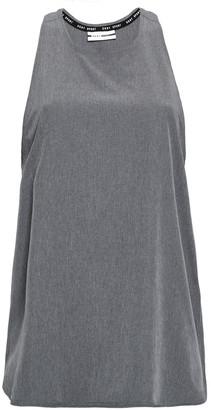 DKNY Printed Stretch-jersey Tank