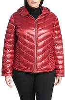 Calvin Klein Plus Size Women's Packable Quilted Down Jacket