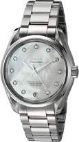 Omega Women's 'Aqua Terra' Swiss Quartz Stainless Steel Dress Watch (Model: 23110392155002)
